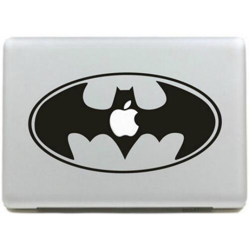 Наклейка Batman Logo для MacBook