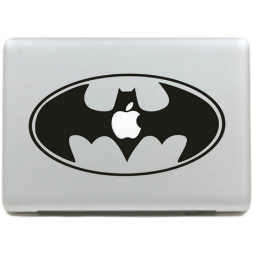 Наклейка Batman Logo для MacBook