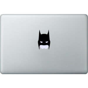 Купить Наклейка Batman Head для MacBook