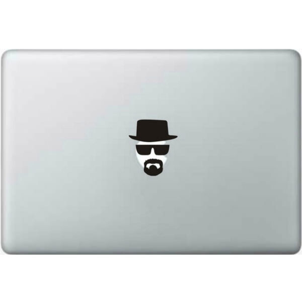 Наклейка Breaking Bad Хайзенберг для MacBook