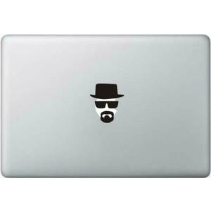 Купить Наклейка Breaking Bad Хайзенберг для MacBook