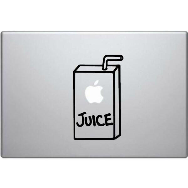 Наклейка JUICE для MacBook