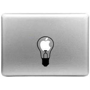 Купить Наклейка Лампочка для MacBook