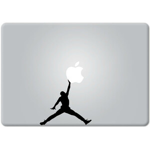 Купить Наклейка Michael Jordan для MacBook