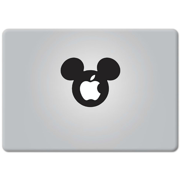 Наклейка Mickey Mouse для MacBook