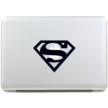 Наклейка Superman для MacBook