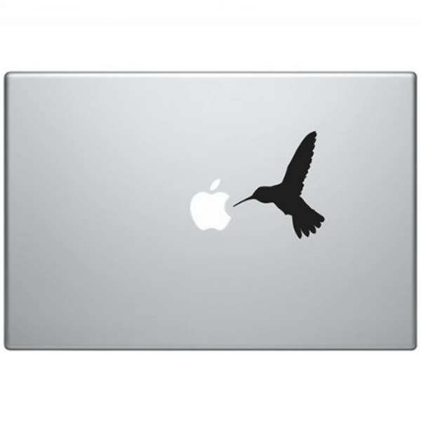 Наклейка Колибри для MacBook