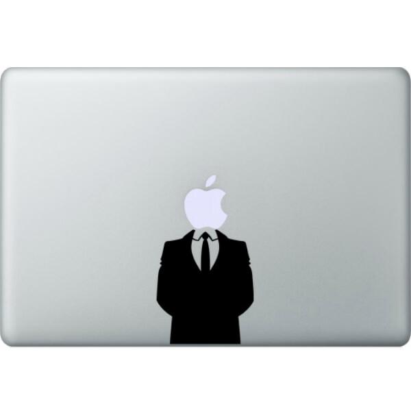 Наклейка Джентельмен для MacBook
