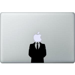 Купить Наклейка Джентельмен для MacBook