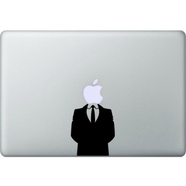 Наклейка Джентельмен iLoungeMax для MacBook