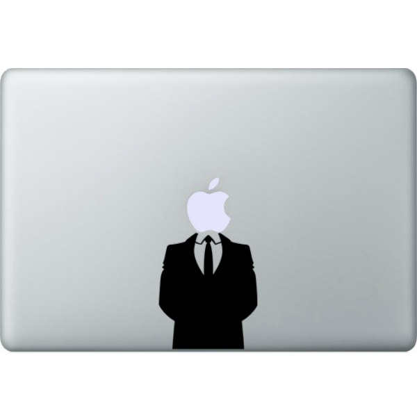Наклейка Джентельмен для MacBook