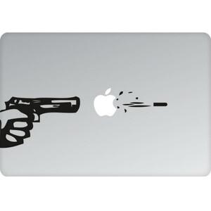 Купить Наклейка Пуля на вылет для MacBook