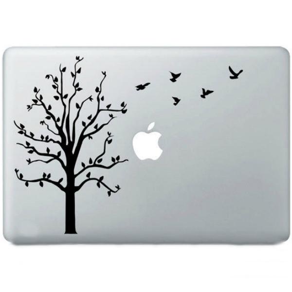 Наклейка Дерево для MacBook