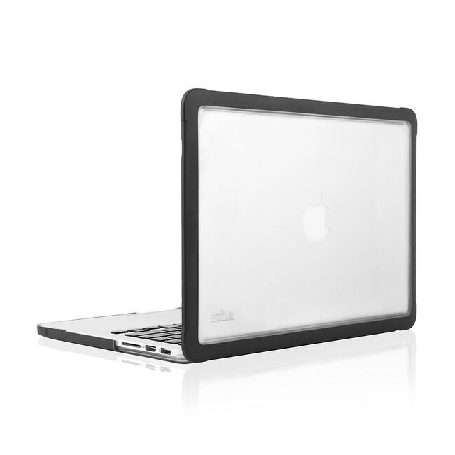 "Чехол STM Dux Black для MacBook Pro 13"" Retina"