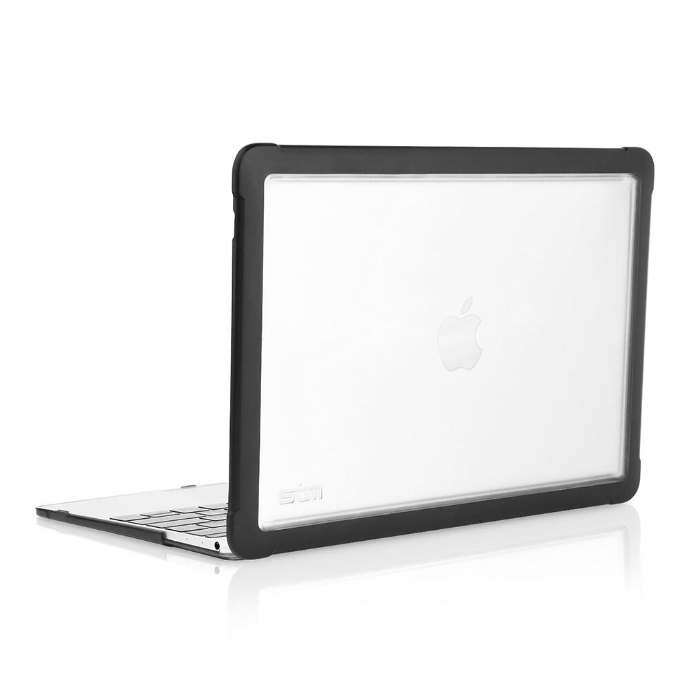 "Чехол STM Dux Black для MacBook 12"""