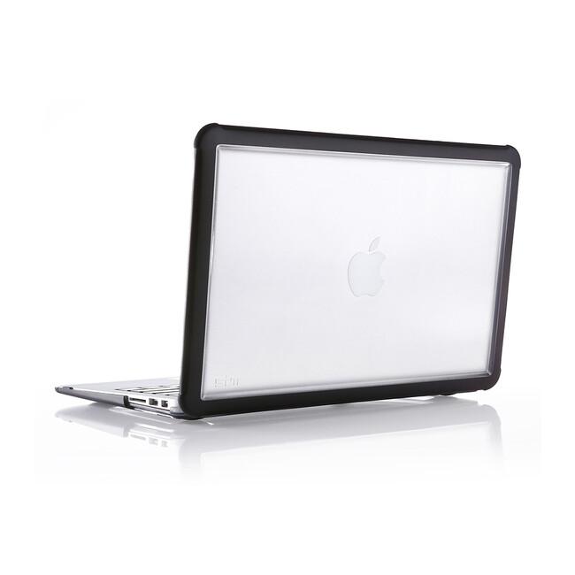 """Чехол STM Dux Black для MacBook Air 13"""""""