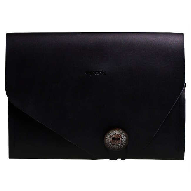 Чехол d-park Envelope Black из натуральной кожи для iPad mini 4/3/2