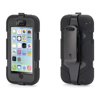 Чехол GRIFFIN Survivor Black для iPhone 5C
