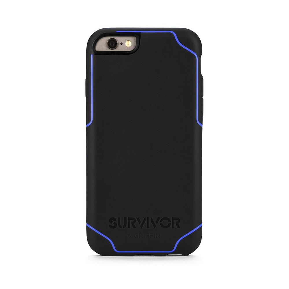 Чехол Griffin Survivor Journey Black/Blue для iPhone 6/6s