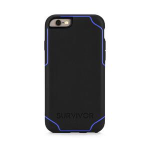 Купить Чехол Griffin Survivor Journey Black/Blue для iPhone 6/6s