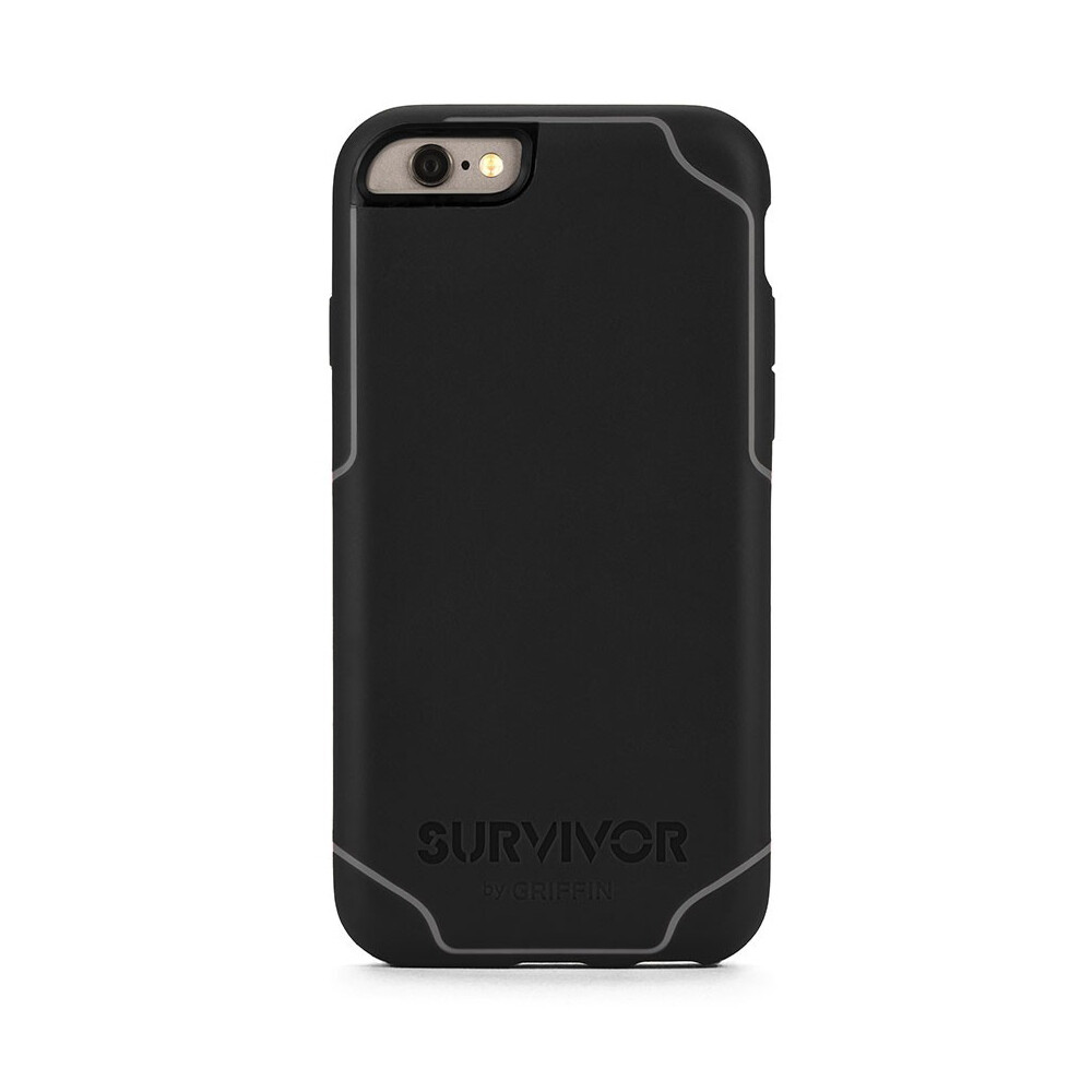 Чехол Griffin Survivor Journey Black/Dark Grey для iPhone 6/6s