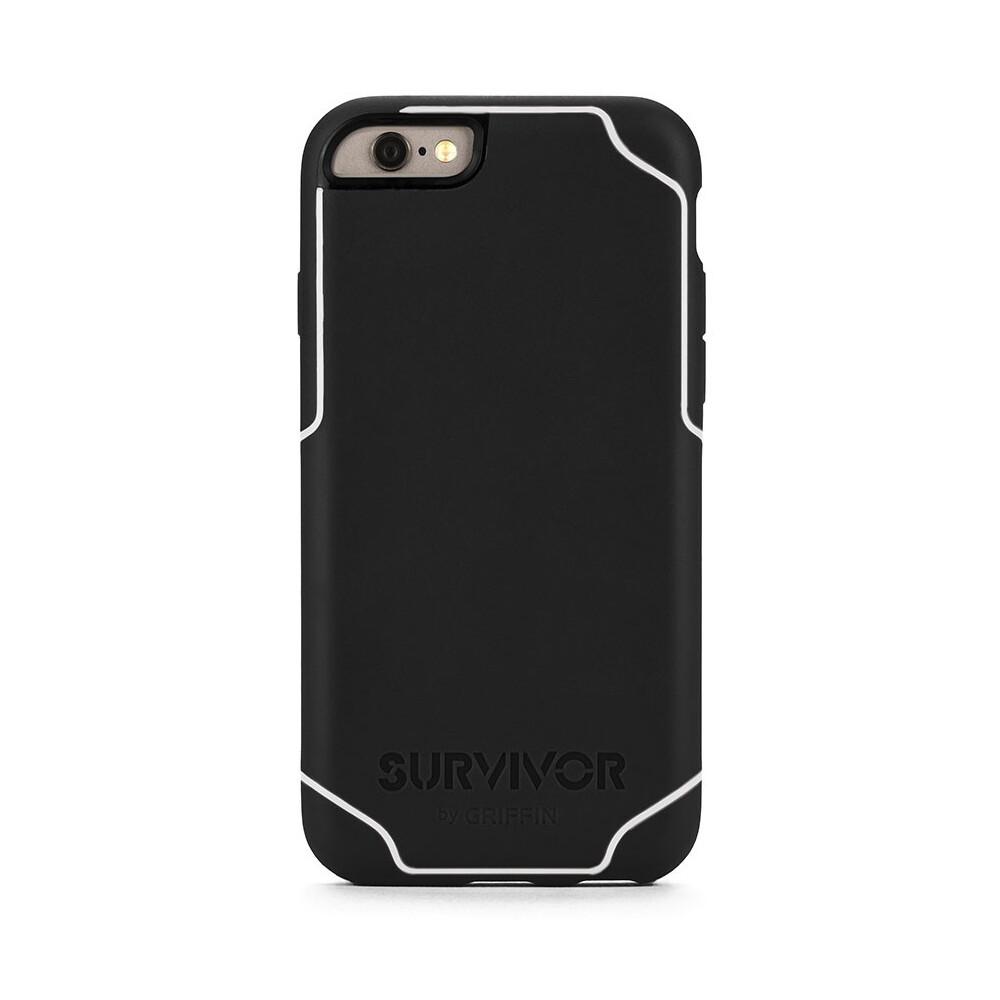 Чехол Griffin Survivor Journey Black/White для iPhone 6/6s