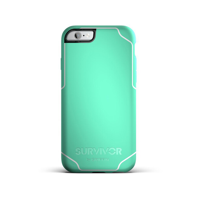 Чехол Griffin Survivor Journey Mint/White для iPhone 6/6s