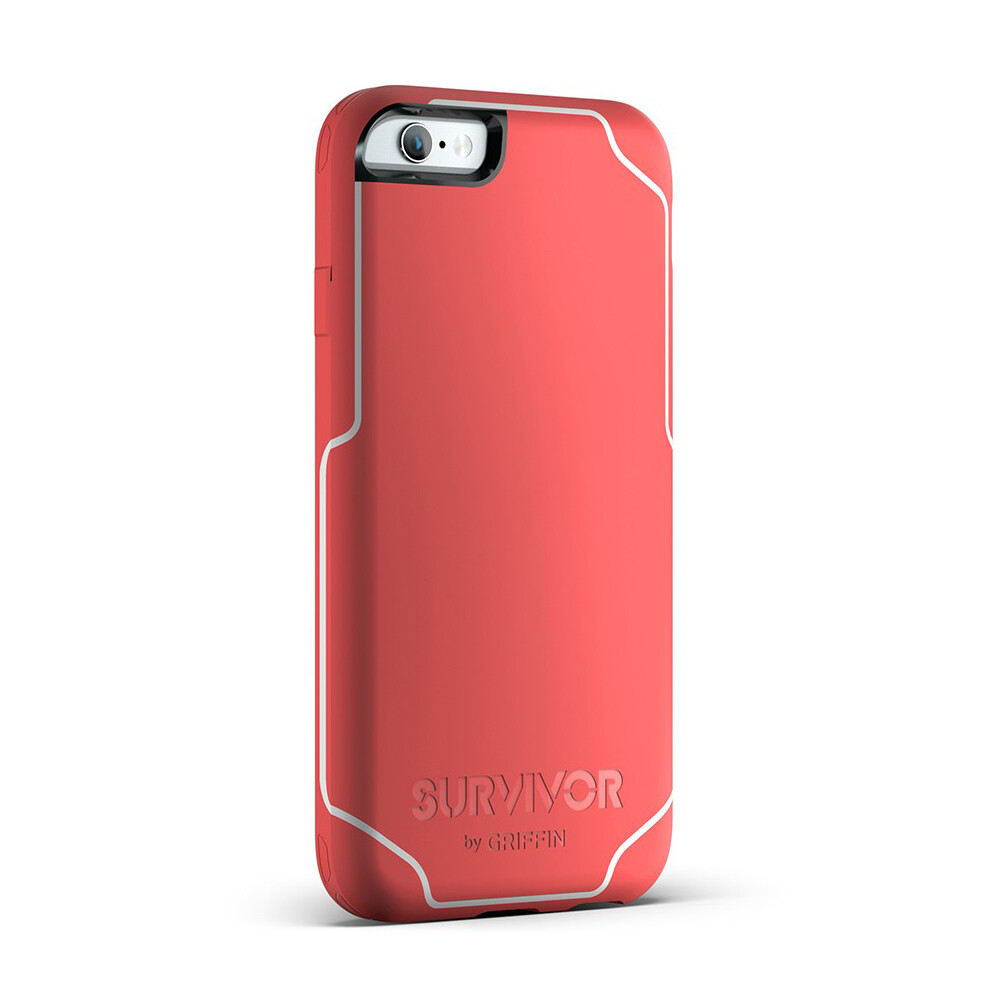 Чехол Griffin Survivor Journey Coral/White для iPhone 6 Plus/6s Plus