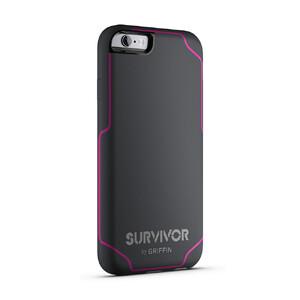Купить Чехол Griffin Survivor Journey Grey/Dark Pink для iPhone 6/6s Plus