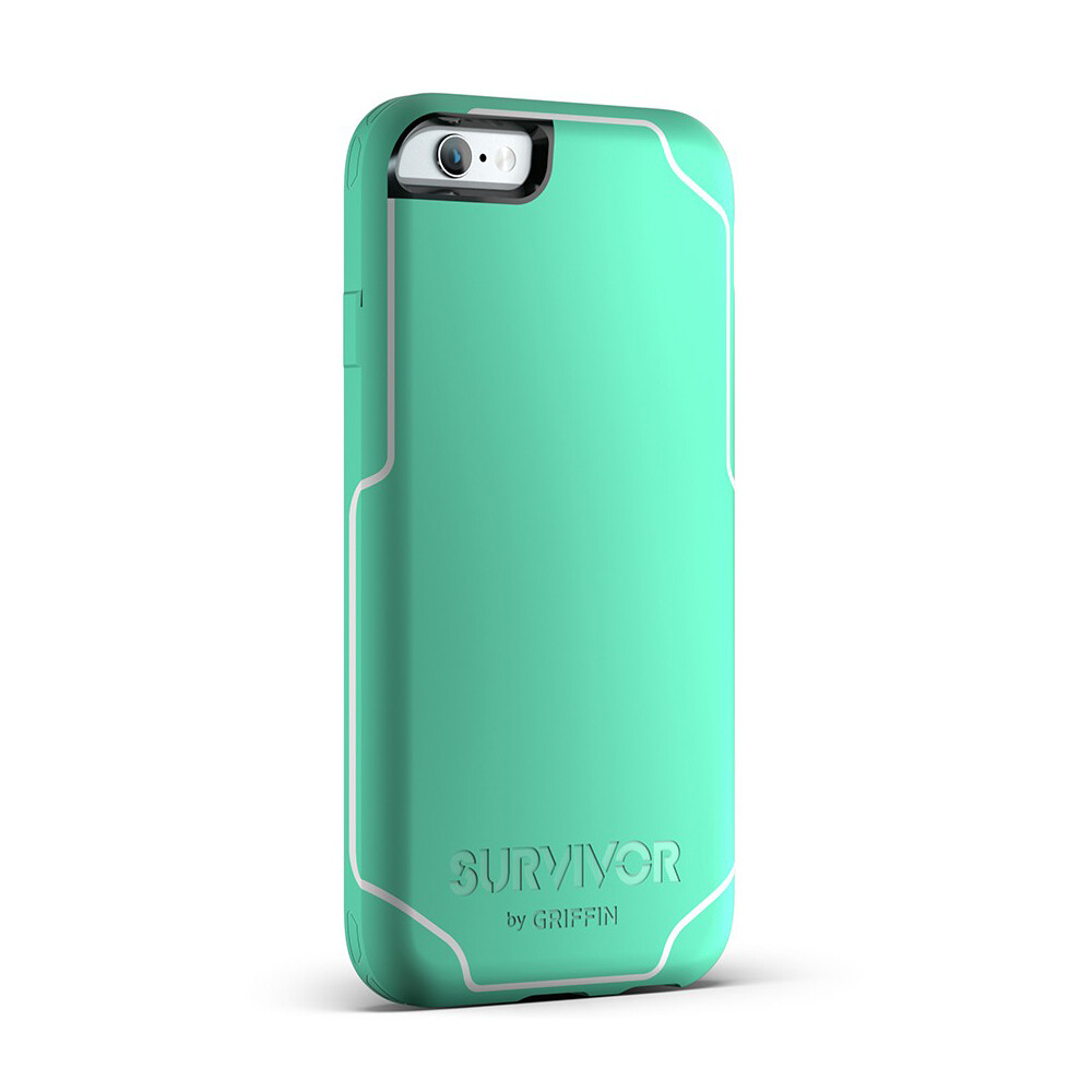 Чехол Griffin Survivor Journey Mint/White для iPhone 6 Plus/6s Plus