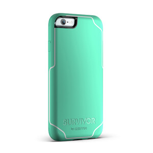 Купить Чехол Griffin Survivor Journey Mint/White для iPhone 6/6s Plus
