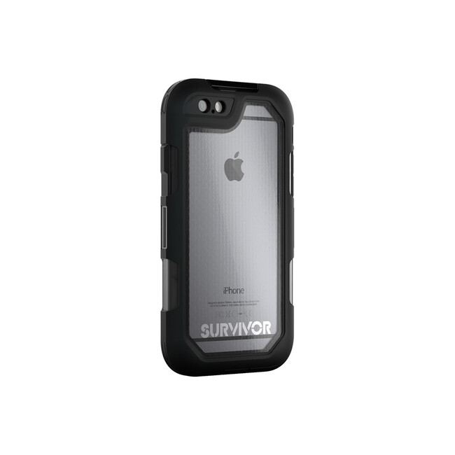 Чехол Griffin Survivor Summit Clear/Black для iPhone 6/6s