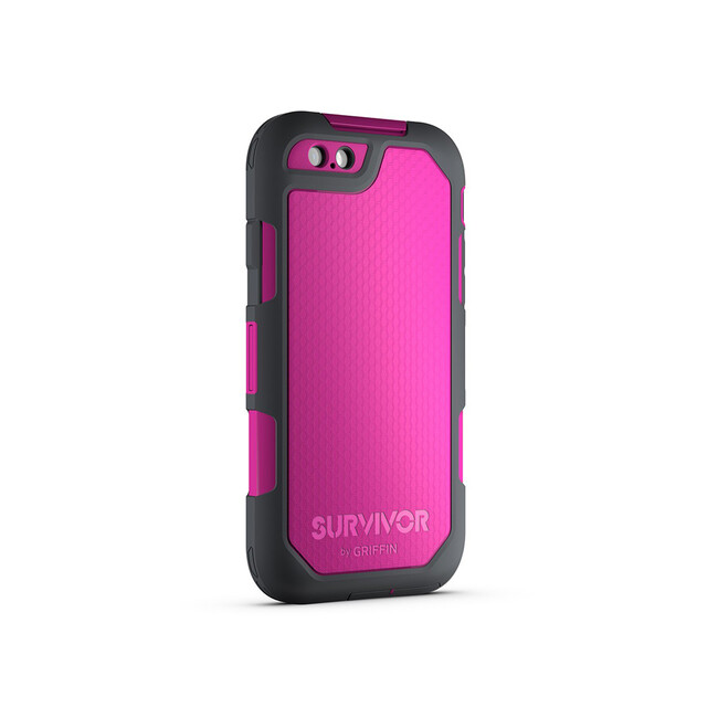 Чехол Griffin Survivor Summit Dark Pink/Dark Grey для iPhone 6/6s