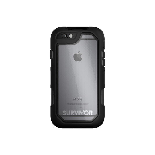 Чехол Griffin Survivor Summit Clear/Black для iPhone 6/6s Plus