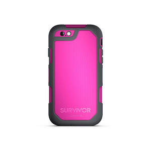 Купить Чехол Griffin Survivor Summit Dark Pink/Dark Grey для iPhone 6/6s Plus