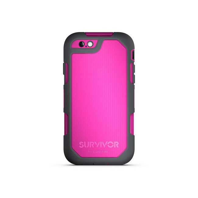 Чехол Griffin Survivor Summit Dark Pink/Dark Grey для iPhone 6/6s Plus