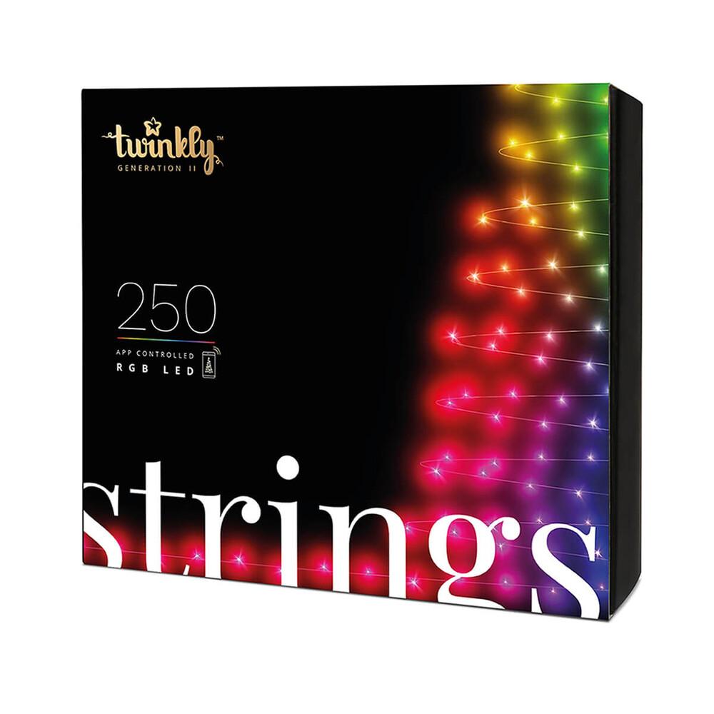 Купить Умная светодиодная гирлянда Twinkly Strings RGB-250 20м