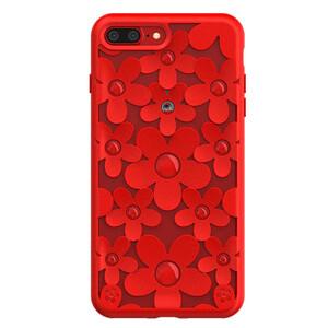 Купить 3D чехол SwitchEasy Fleur Red для iPhone 7 Plus