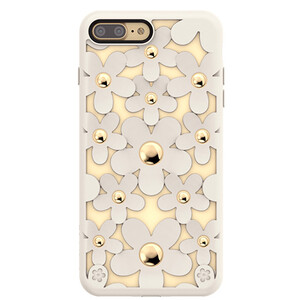 Купить 3D чехол SwitchEasy Fleur Antique White для iPhone 7 Plus/8 Plus