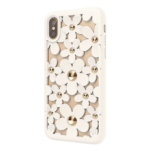 Купить 3D чехол SwitchEasy Fleur Antique White для iPhone X/XS