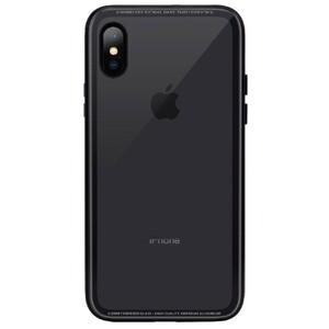 Купить Стеклянный чехол SwitchEasy iGlass Black для iPhone X/XS