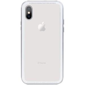 Купить Стеклянный чехол SwitchEasy iGlass Silver для iPhone X/XS