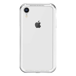 Купить Стеклянный чехол SwitchEasy iGlass Silver для iPhone XR