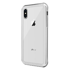 Купить Стеклянный чехол SwitchEasy iGlass Silver для iPhone XS Max
