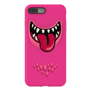 Купить 3D чехол SwitchEasy Monsters Pink для iPhone 7 Plus