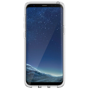 Купить Противоударный чехол Tech21 Evo Check Clear/White для Samsung Galaxy S8 Plus