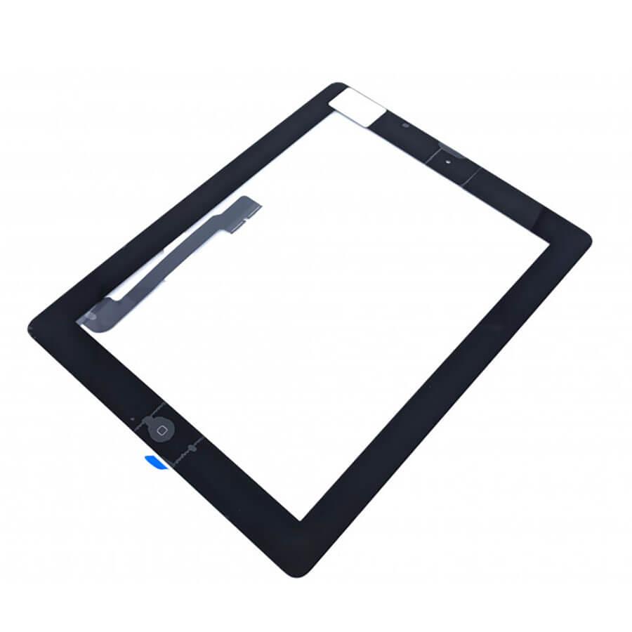 Купить Тачскрин (сенсор) Black для iPad 3 | 4 (оригинал)
