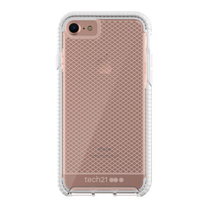Купить Противоударный чехол Tech21 Evo Check Clear/White для iPhone 7/8