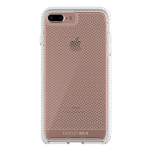 Купить Противоударный чехол Tech21 Evo Check Clear/White для iPhone 7 Plus/8 Plus