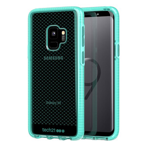 Купить Противоударный чехол Tech21 Evo Check Aqua для Samsung Galaxy S9
